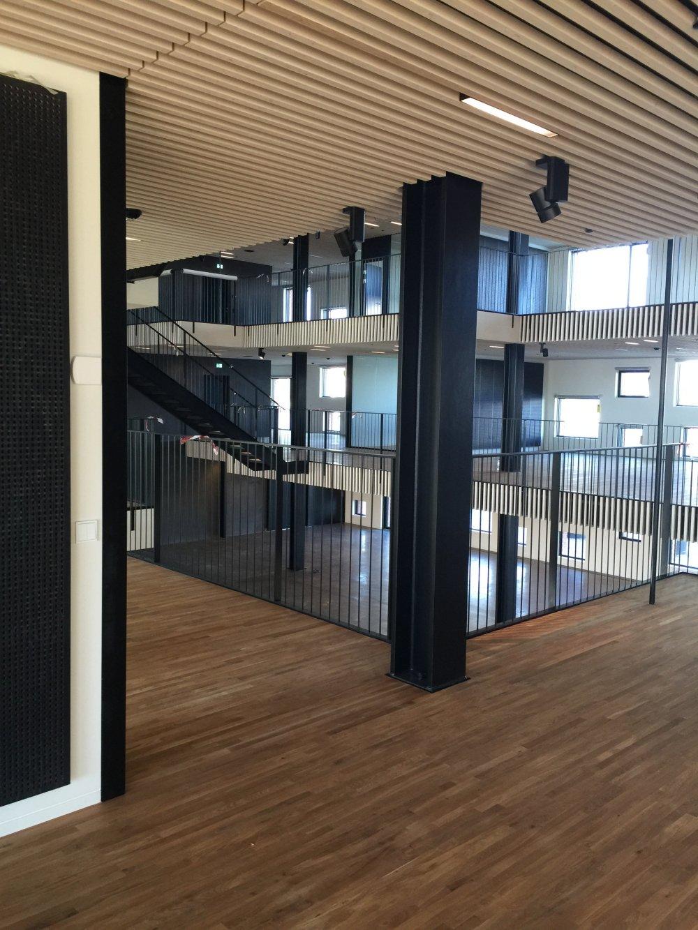 ATP har nyopført et pakhus på Langelinie